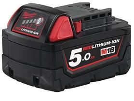 MILWAUKEE 4932430483 - RED LITHIUM-ION 18V - 5,0 AH